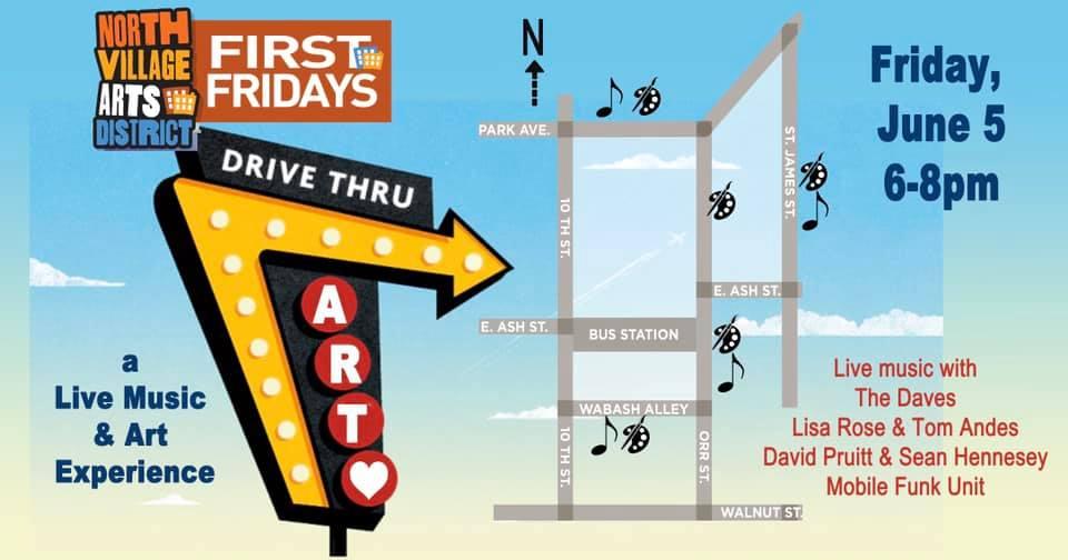 Drive Thru First Friday